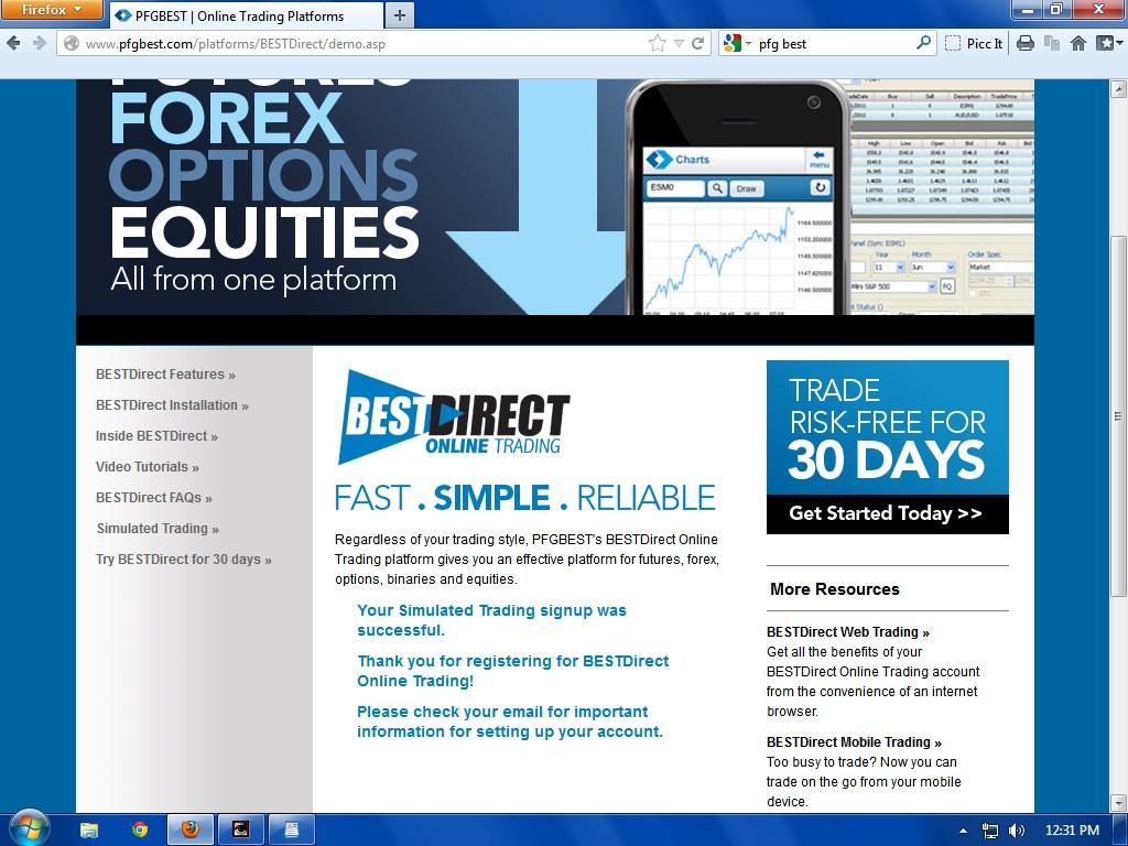 Pfg broker forex